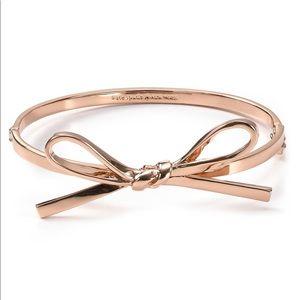 Kate Spade Rose Gold Mini Bow Bangle